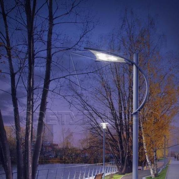 Уличная светодиодная система освещения ПАРУС в Актобе 6
