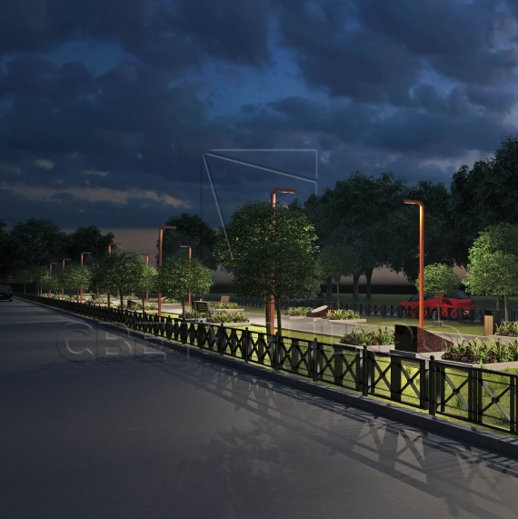 Уличная светодиодная система Спарта 100 2
