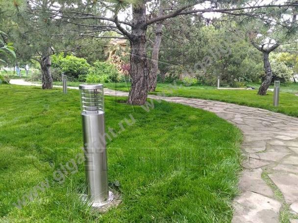 Садово-парковые светильники 4739, 4738, 5737 4