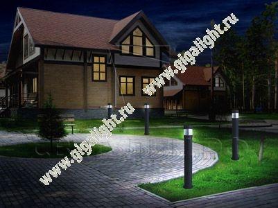 Садово-парковые светильники 4196 3