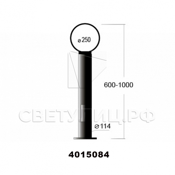 Садово-парковые светильники 4003, 4015, 4041 2