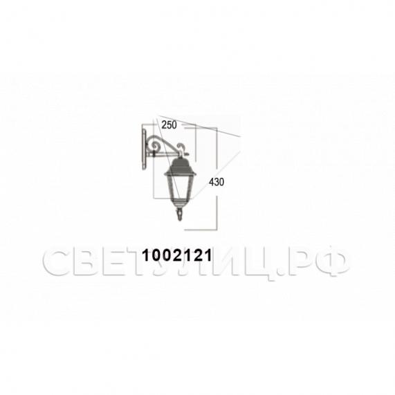 Садово-парковые светильники 1002, 1009, 2039, 2189 9