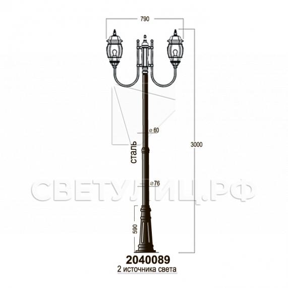 Садово-парковые светильники 1020, 2040 в Актобе 23