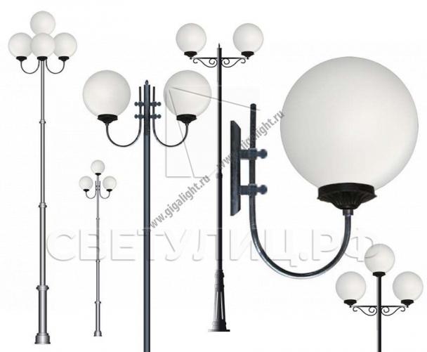 Садово-парковые светильники 2106 в Актобе 0