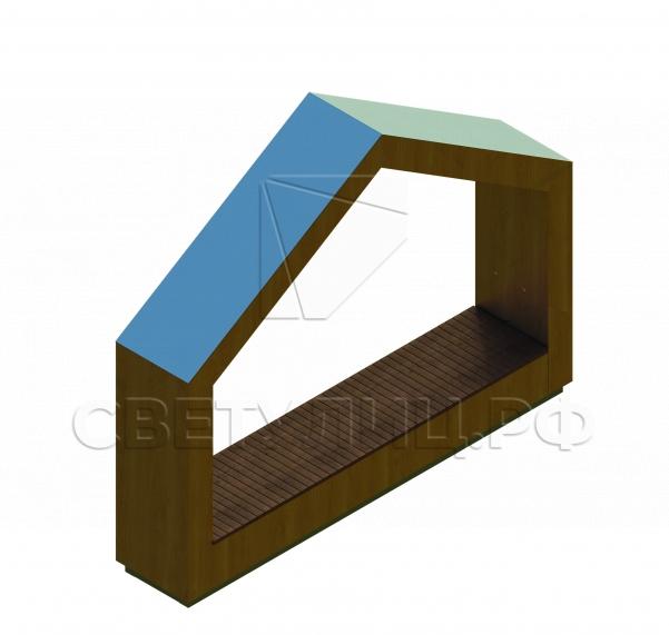 Теремок smart-скамейка СК351 0