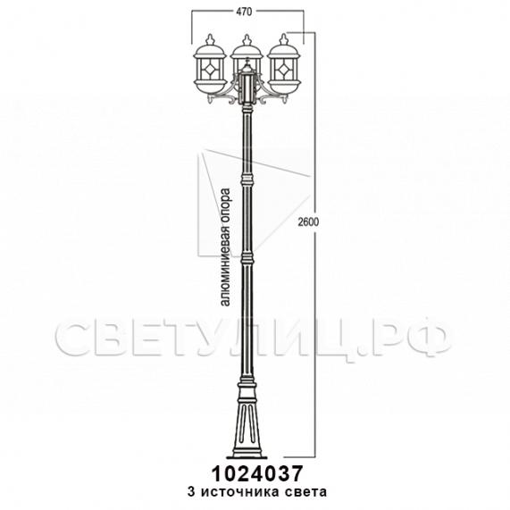 Садово-парковые светильники 1024 в Актобе 17
