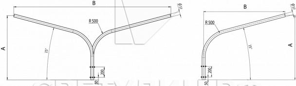 Опора круглая коническая ОКК Проспект в Актобе 7