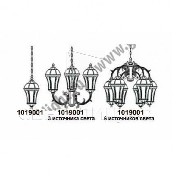 Садово-парковые светильники 1019, 2045 1