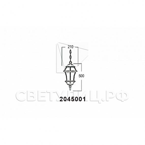 Садово-парковые светильники 1019, 2045 21
