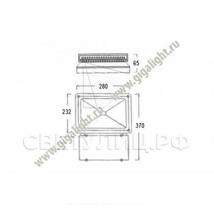 Прожектор светодиодный 70 Вт  - 5321 1