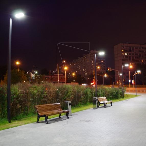 Опора уличная светодиодная металлическая Тверь 1