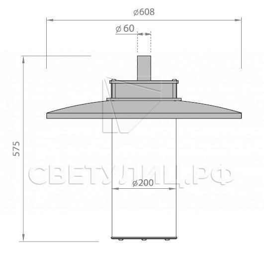 Светодиодный уличный светильник Тодес LED 1