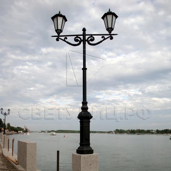 Светильник уличный классический светодиодный Ораниенбаум 2