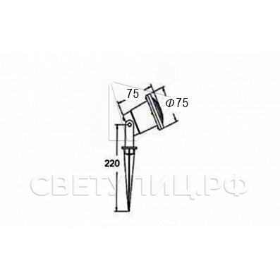 Ландшафтный светильник Терра 09 в Актобе 1