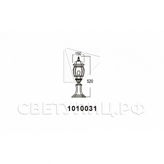 Садово-парковые светильники 1010, 2040, 2051 в Актобе 13