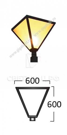 Садово-парковые светильники 3084 в Актобе 1