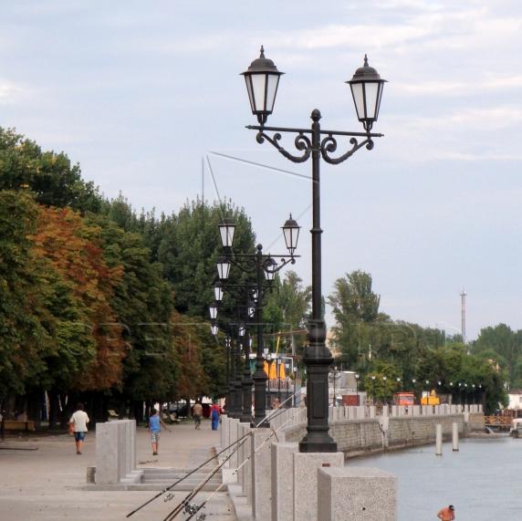 Светильник уличный классический светодиодный Ораниенбаум 1