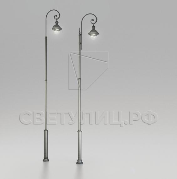 Уличный светодиодный классический светильник Руза 1