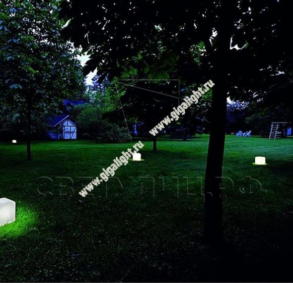 Газонные светильники Грасс Куб 1