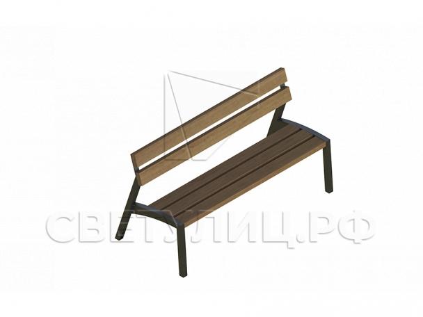 Конкур скамейка СК281 в Актобе 0