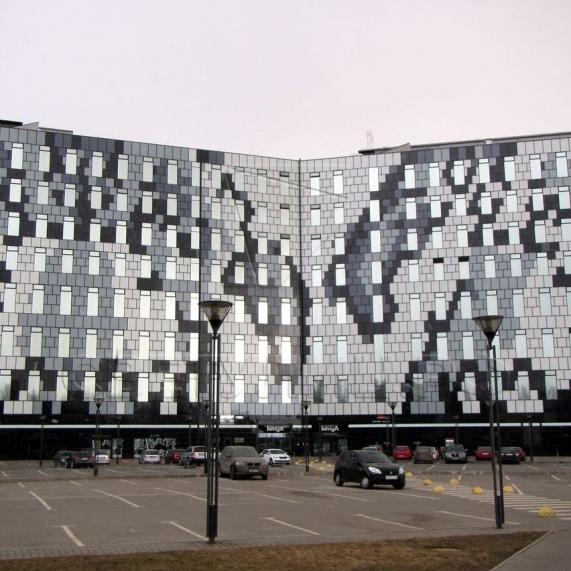 Уличная декоративная опора освещения Казань 2