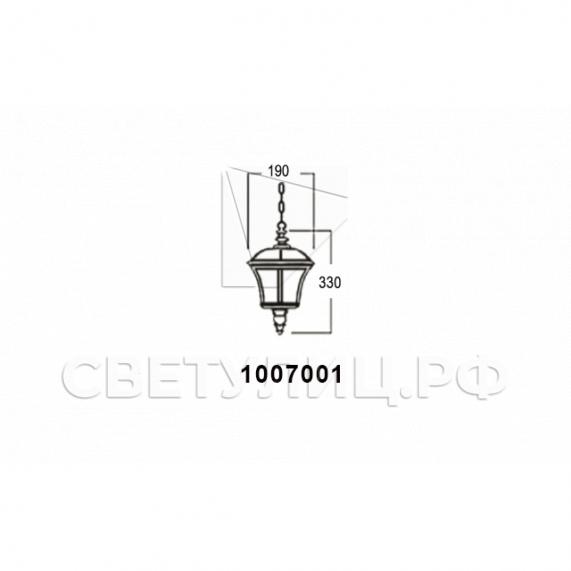 Садово-парковые светильники 1007 2