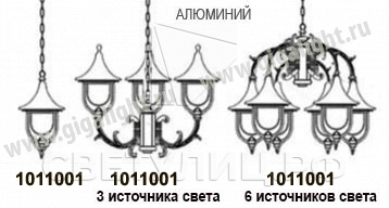 Садово-парковые светильники 1011 1