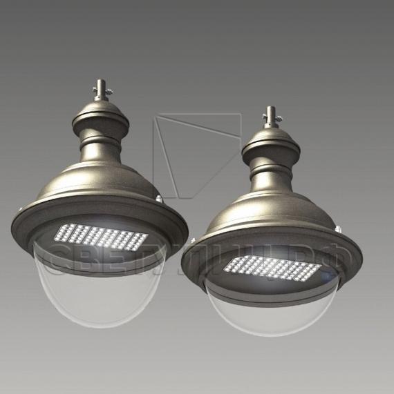 Уличный светодиодный классический светильник Руза 0