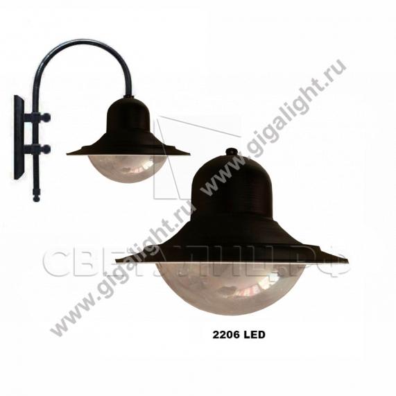 Садово-парковые светильники 2206, 2213 9
