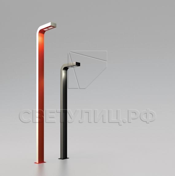 Металлическая опора уличного освещения светодиодная Спарта в Актобе 0