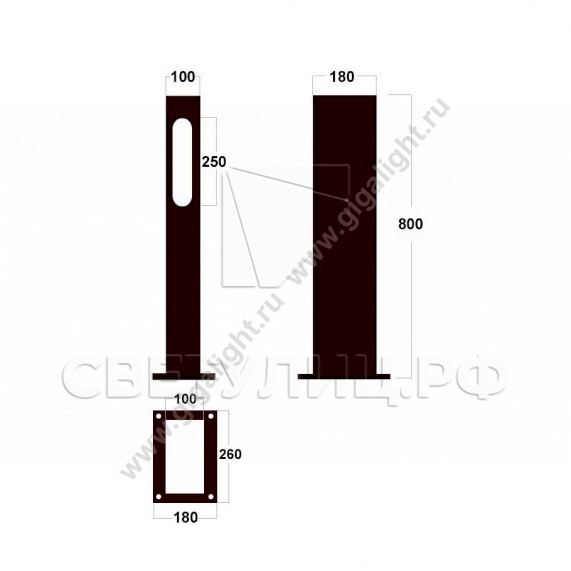 Газонные светильники 4925 3