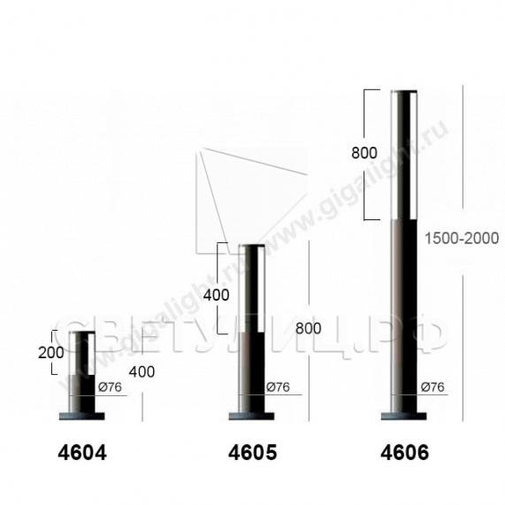 Ландшафтные светильники 4601-4609 в Актобе 2