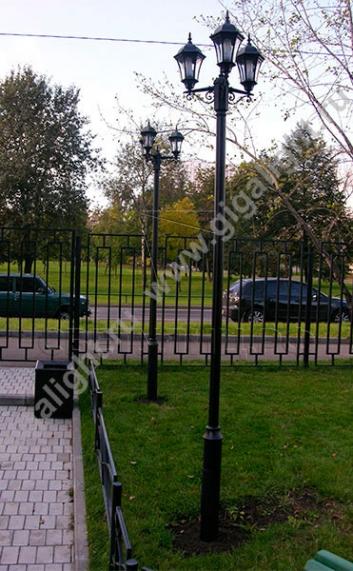 Садово-парковые светильники 1028, 2047 3