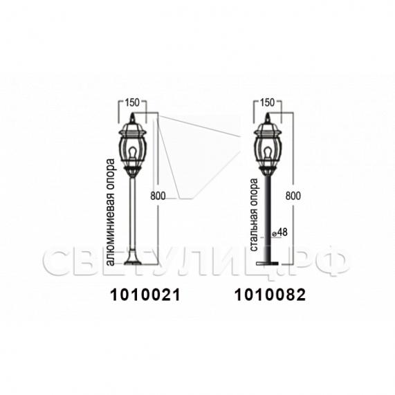 Садово-парковые светильники 1010, 2040, 2051 в Актобе 14
