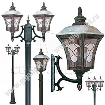 Садово-парковые светильники 1007 0