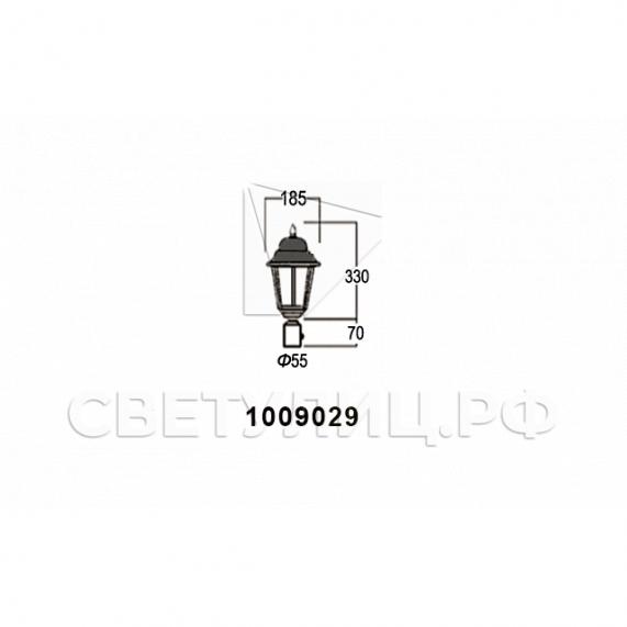 Садово-парковые светильники 1002, 1009, 2039, 2189 19