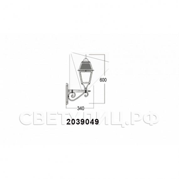 Садово-парковые светильники 1002, 1009, 2039, 2189 32