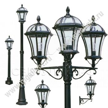 Садово-парковые светильники 1026, 2064 в Актобе 0