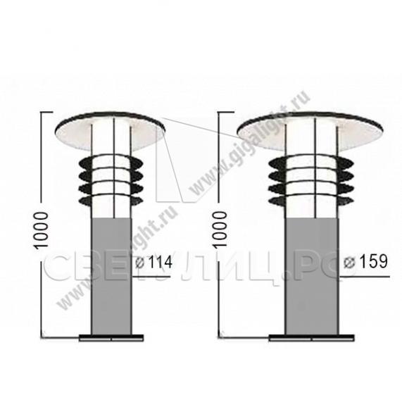 Газонные светильники 4863 1