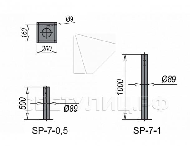Стойки серии SP-7 0