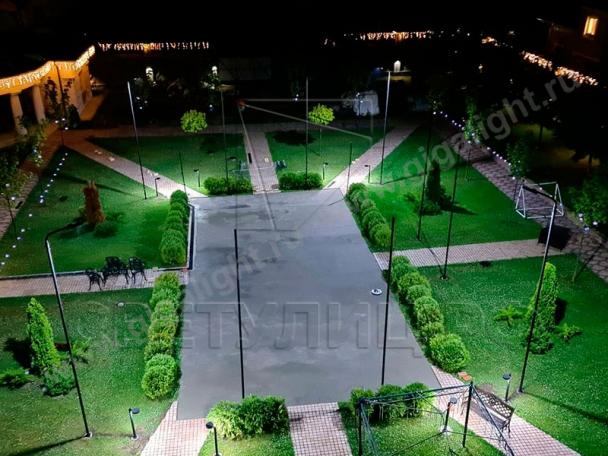 Садово-парковые светильники 3904, 3905, 3906, 3418, 3907, 3527 8