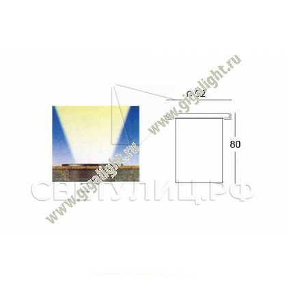 Ландшафтный светильник 5720 в Актобе 1