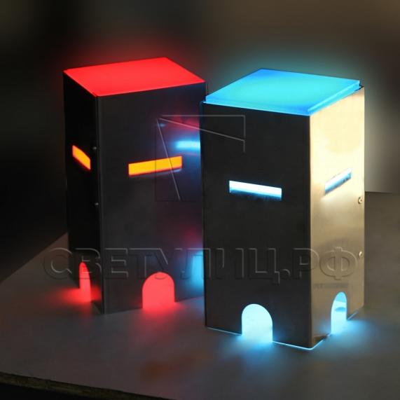 Грунтовый светильник LED брусчатка 2