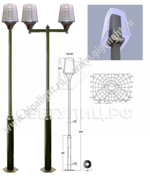 Садово-парковые светильники 3164 1