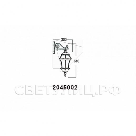 Садово-парковые светильники 1019, 2045 22