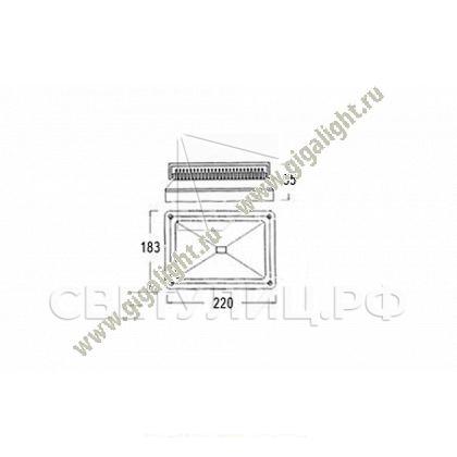 Прожектор светодиодный 30 Вт -  5315 1