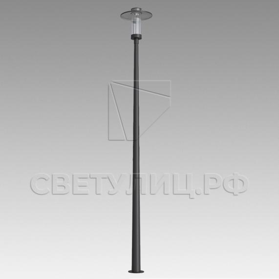 Нейтральный уличный светодиодный фонарь H1.2 в Актобе 0