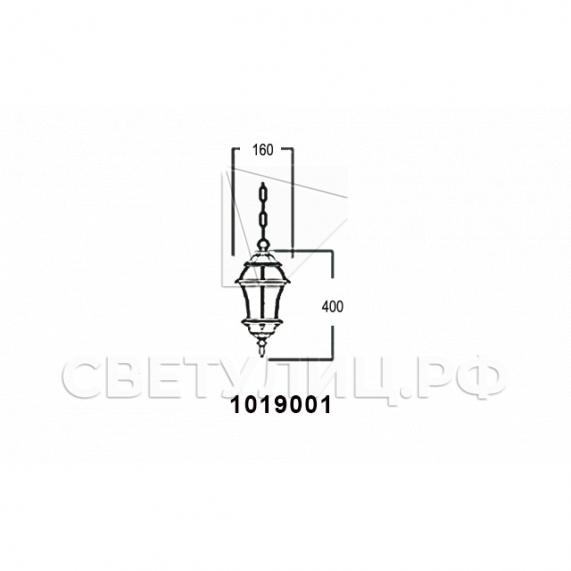 Садово-парковые светильники 1019, 2045 6