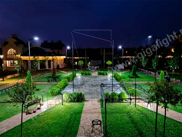 Садово-парковые светильники 3904, 3905, 3906, 3418, 3907, 3527 9