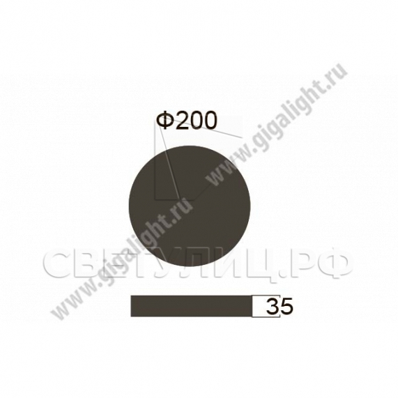 Садово-парковые светильники 5815 1